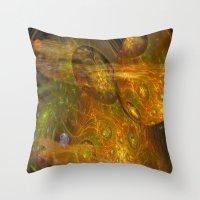 Exoplanet Nebula Throw Pillow