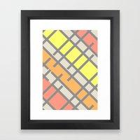 Saltwater Taffy Framed Art Print