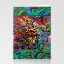 Abstract 21 Stationery Cards