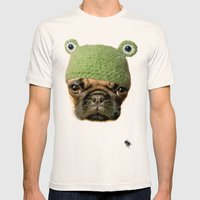 Frug Mens Fitted Tee Natural SMALL