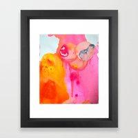 Little Fetus Waiting To … Framed Art Print