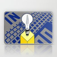 The Case Of The Light Sw… Laptop & iPad Skin