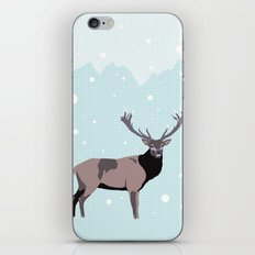 Snow Deer iPhone & iPod Skin