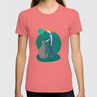 How Do You Do? Womens Fitted Tee Pomegranate SMALL
