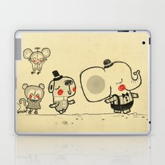 Forest Friends \ Cute Animals March\ elephant cats dogs  Laptop & iPad Skin