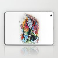 Knife Flower Laptop & iPad Skin