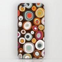 Veneto Boho Spot Chocola… iPhone & iPod Skin