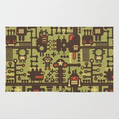 World of robots. Rug