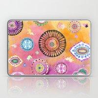 Bohemian Mandala elephant (bright) Laptop & iPad Skin