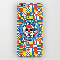 Right Or Wrong, I'm Stil… iPhone & iPod Skin