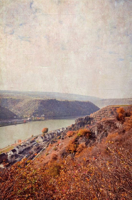 Middle Rhine Valley Art Print