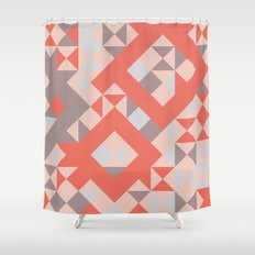 TangerineTango Shower Curtain