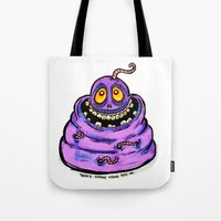Wormy Tote Bag