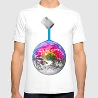 Canopy Of Color Mens Fitted Tee White SMALL