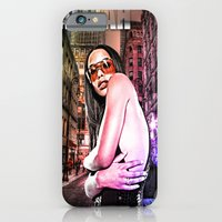 iPhone & iPod Case featuring Street Phenomenon Aaliyah by D77 The DigArtisT