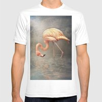 Walking in a dream.. Mens Fitted Tee White SMALL
