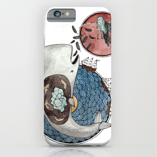 New Version Whale iPhone & iPod Case