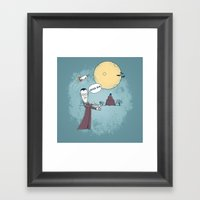 Goodbye Werewolf Framed Art Print