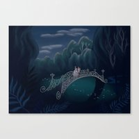 So This Is Love Canvas Print