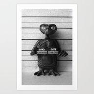 E.T. The Extra-Terrestri… Art Print