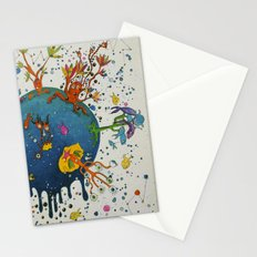 the ocean planet Stationery Cards