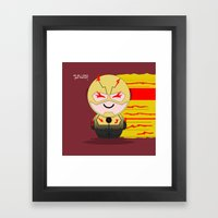 ChibizPop: The Reverse Framed Art Print