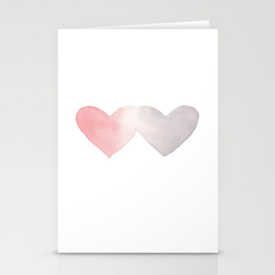 Commingle Stationery Card