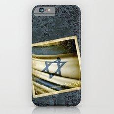 Israel grunge sticker flag Slim Case iPhone 6s