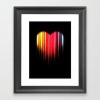 Sookie Heart Framed Art Print