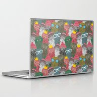 Laptop & iPad Skin featuring The Crowd. by Panova