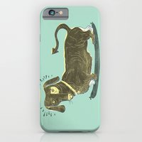 Bad Dog! (The Little Dachshund That Didn't) iPhone 6 Slim Case