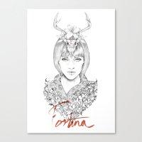 Lady Fortuna Canvas Print