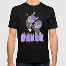 DANCE Mens Fitted Tee Tri-Black SMALL
