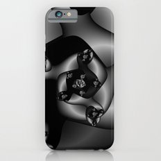Black and White Fractal 8 iPhone 6 Slim Case