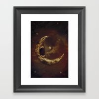 Star Eater Framed Art Print
