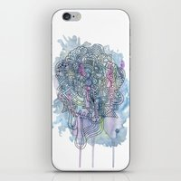 Azul iPhone & iPod Skin