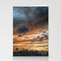 Vista (the sky is source of great beauty) Stationery Cards