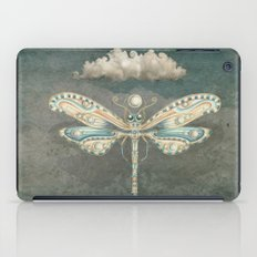 Dragonfly of the moon iPad Case