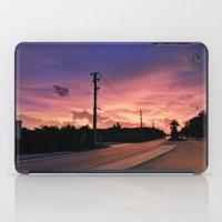 Miami Sunrise iPad Case