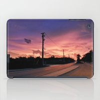 Miami Sunrise iPad Case