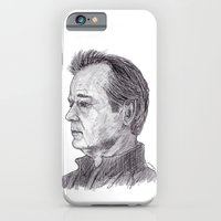 bill murray iPhone & iPod Cases featuring Bill Murray by jamestomgray