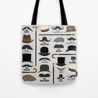 Moustache Styles Tote Bag