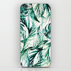 Green Tropical paradise  iPhone & iPod Skin