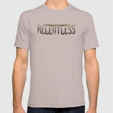 Be Relentless Mens Fitted Tee Cinder SMALL