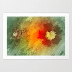 Summer floral wallpapaer. Art Print