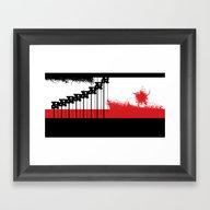 AEND ?! ( The World We L… Framed Art Print
