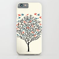tree iPhone & iPod Cases featuring Out On a Lark by Oliver Lake