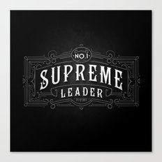 Supreme Leader Canvas Print