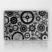 Grunge Cogs. Laptop & iPad Skin