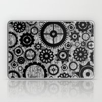 Grunge Cogs. Laptop & iPad Skin